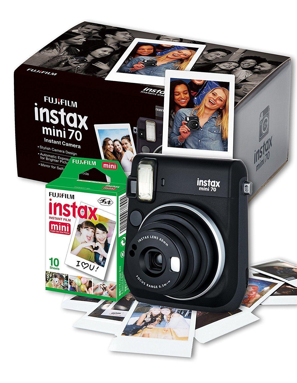 Instant Cameras Films Jeff Scowen The Film Photography Fujifilm Paper Instax Mini Comic 70 Camera Black W 10 Shot
